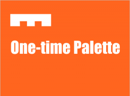 One-time pallets